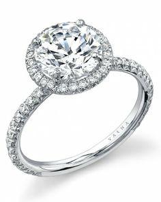 Round-Diamond Engagement Ring from Varna