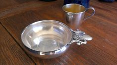 Sale Marked 10 OFFVintage Silver Plate Baby Bowl by TiesofMyFather, $31.59