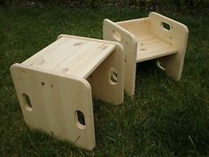 Cube chair -ebay