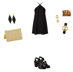 """Sans titre #2661"" by yesmine-bengharbia ❤ liked on Polyvore featuring Ashley Pittman, New Look, Miss Selfridge, Nixon, Repossi, MANGO and OPI"