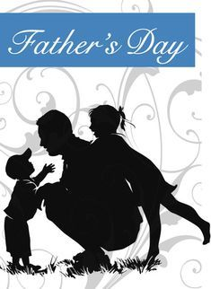 Celebrate Father's Day with these 30 designs, each featuring a greeting card, poster, illustration, or other dad-related design for Father's Day. Happy Fathers Day Images, Fathers Love, Father Tattoos, Family Tattoos, Tattoo Familia, Model Tattoo, Kids Silhouette, Daddy Day, Tattoos For Daughters