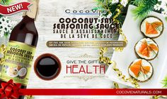 CocoVie Coconut Sap Seasoning Sauce is an organic certified, all-purpose soy-free sauce which contains 17 amino acids and minerals. It is produced from freshly harvested coconut sap, infused with sea salt and organic herbs. It is aged and processed delicately through natural fermentation.