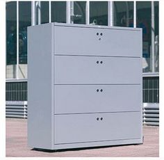 White Lateral File Cabinets
