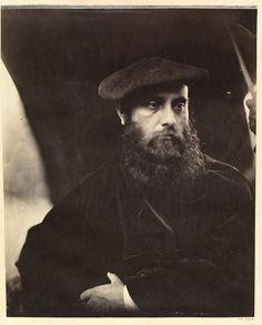 William Michael Rossetti by Julia Margaret Cameron, England, 1865. l Victoria and Albert Museum #Movember #Novembeard