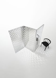 Fragment | screen By glas italia, crystal screen design Nendo, fragment Collection