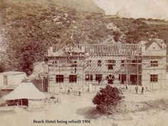Chapmans Peak Hotel, Hout Bay, Cape Town, South Africa - History Old Photos, Vintage Photos, Nordic Walking, Cape Town South Africa, Black History, Beautiful Places, African, Birth