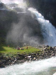 Krimmler Wasserfälle waterfalls, Salzburg, Austria