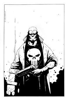 Lyndon Webb | HELLBOY | Pin-up Comic Art