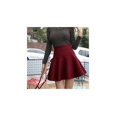 This skater skirt will save you a lot of headache thinking what to wear from work to play. The high-waist cut combines with the flowy skirt for a modern edge, …