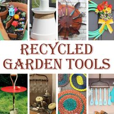 DIY Home Sweet Home: 8 Recycled Garden Tool Ideas