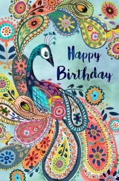 Happy Birthday Wishes For A Friend, Happy Birthday Art, Happy Birthday Pictures, Birthday Fun, Card Birthday, Birthday Ideas, Birthday Card Messages, Happy Birthday Greeting Card, Hippie Birthday