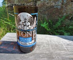 Recycled Stone Brewing Smoked Porter with by ConversationGlass
