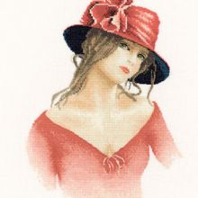 One of the new stunningly beautiful portrait-style patterns from Heritage Crafts, designed by John Clayton as part of the Elegance Miniatures. Cross Stitch Angels, Cross Stitch Kits, Cross Stitch Patterns, Needlepoint Kits, Needlepoint Canvases, Cross Stitch Fabric, Cross Stitching, John Clayton, Heritage Crafts