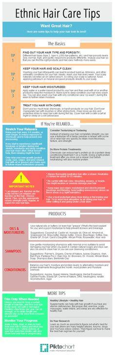 Hair care info   Piktochart Infographic Editor