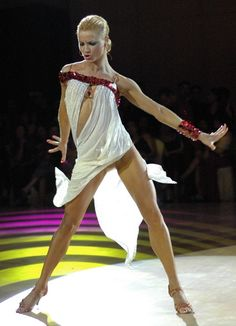 One of the best dancers of all time.  Yulia Zagoruychenko - breathtaking in motion.