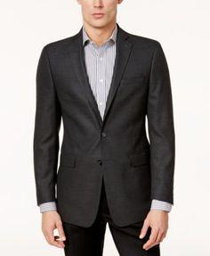 Calvin Klein Men's Slim-Fit Textured Sport Coat | macys.com