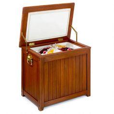 WorldMarket.com: Wood Outdoor Cooler