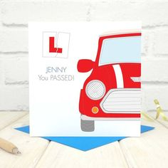 Are you interested in our Personalised Driving Test Card? With our Passed your driving test card you need look no further.