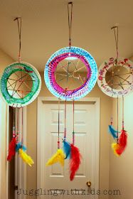 Juggling With Kids: The Ultimate Guide to Feathers and our Dream Catcher Craft
