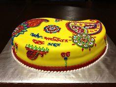 Gaye Holud Cake