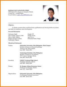 basic job resume template Sample Format Of Resume. Basic Resume Format Examples Sample Of A . Basic Resume Format, Latest Resume Format, Professional Resume Format, Resume Format Examples, Cv Format, Job Application Cover Letter, Cover Letter For Resume, Best Resume, Resume Cv