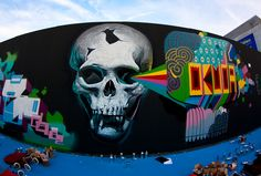 Belin + Okuda = Style. In Madrid.