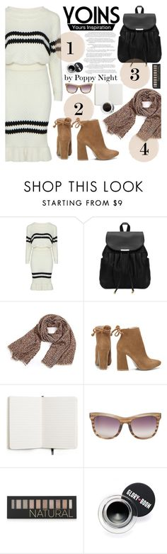 """Yoins 11"" by poppynight ❤ liked on Polyvore featuring Shinola, Linda Farrow and Forever 21"