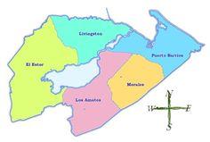 Geografía de Puerto Barrios - Municipios de Guatemala