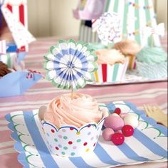 Toot Sweet Multi Coloured Party Cupcake Cases - Cases & Toppers - Cakes & Accessories - Catering