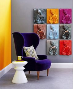 decoracion pop art sala - Buscar con Google