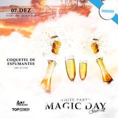 White Party! Magic Day Sunset - Conqueteis de Espumantes