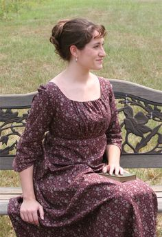 The Elegant Lady's Closet   Sense & Sensibility Patterns  Great collection of sewing patterns for the historically-minded!