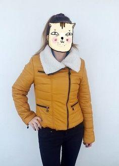 Kup mój przedmiot na #vintedpl http://www.vinted.pl/damska-odziez/kurtki/15767631-kurtka-zimowa-w-kolorze-musztardowym