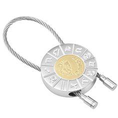 Cancer Zodiac Key Ring Zodiac Signs Key Chain Holder | RnBJewellery