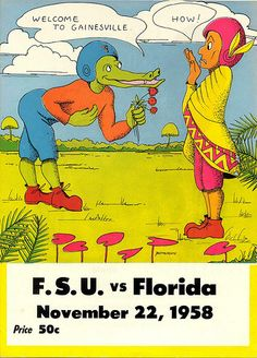 F.S.U. vs Florida --  big time rivalry was born (1958) ...item 2.. DRINKS MIXER -- Gator Punch Bowl recipe ...item 4.. Kathy Griffin: Gator puncher (11:44 PM, Oct. 24, 2012) ... - http://yourdatingfix.com/f-s-u-vs-florida-big-time-rivalry-was-born-1958-item-2-drinks-mixer-gator-punch-bowl-recipe-item-4-kathy-griffin-gator-puncher-1144-pm-oct-24-2012.html