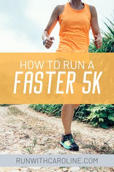 How to run a faster This is probably one of the most common questions I get asked. A is a distance that shouldn't be underestimated. 5k Running Tips, Running Hills, Interval Running, Running Motivation, Running Workouts, 5k Training For Beginners, Running For Beginners, 5k Training Plan, Speed Training