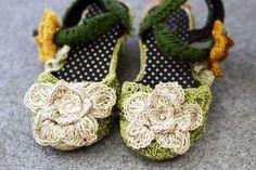 Sandali in macramè ❤ #bugieitalia #macrame #moda #shoes #macramè