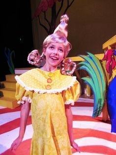 Seussical Jr costumes- the whoville chorus
