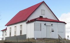 """The former Rev. Willis Black's Baptist church. Built in the early and located in the heart of """"The Rev. 902 W. The Rev, Habitats, 1920s, Shed, Wildlife, Outdoor Structures, Community, Heart, Building"""