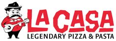 You haven't had pizza until you've had La Casa Pizza - rated the Best Pizza in Nebraska by the Food Network!