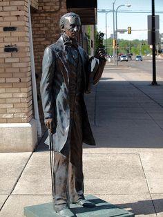 John Tyler Statue, Presidents Tour, Rapid City, South Dakota - 10th President of the United States of America