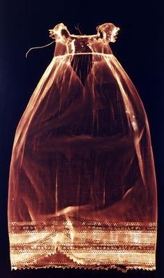 Photograms of historical handmade australian clothing Christina Henri, Conceptual Artist A Level Photography, Art Photography, Textiles, Australian Clothing, Bokashi, Art Textile, Fade To Black, Costume, Little Dresses