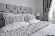 Bed Head, Bedroom, Furniture, Ideas, Home Decor, Style, Swag, Decoration Home, Room Decor