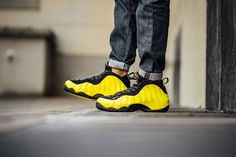 These On-Feet Pictures Of The Nike Air Foamposite One Wu-Tang (Optic Yellow) Make You Wanna Pick Up A Pair
