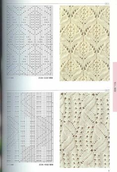 Kira knitting: Knitted pattern no. 52