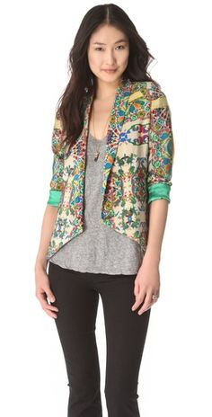 Twelfth St. by Cynthia Vincent  I love the eclectic look to this blazer. Beauts!