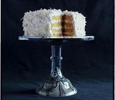 Four-Layer White Cake