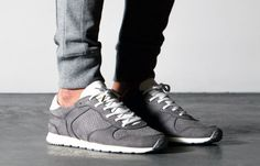 ETQ Amsterdam Alloy Runners On Feet #etqamsterdam #sneakers #trainers