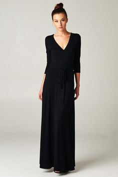 Wrapped in Luxury Maxi's- Black and Red
