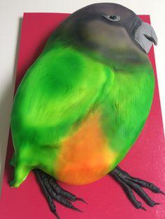 Kleine papegaai taart